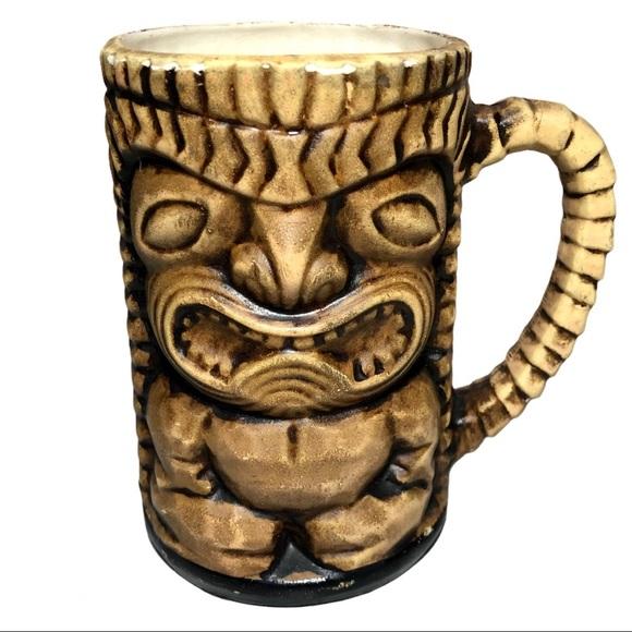 Vintage Handled Florida Leilani Style Tiki Mug